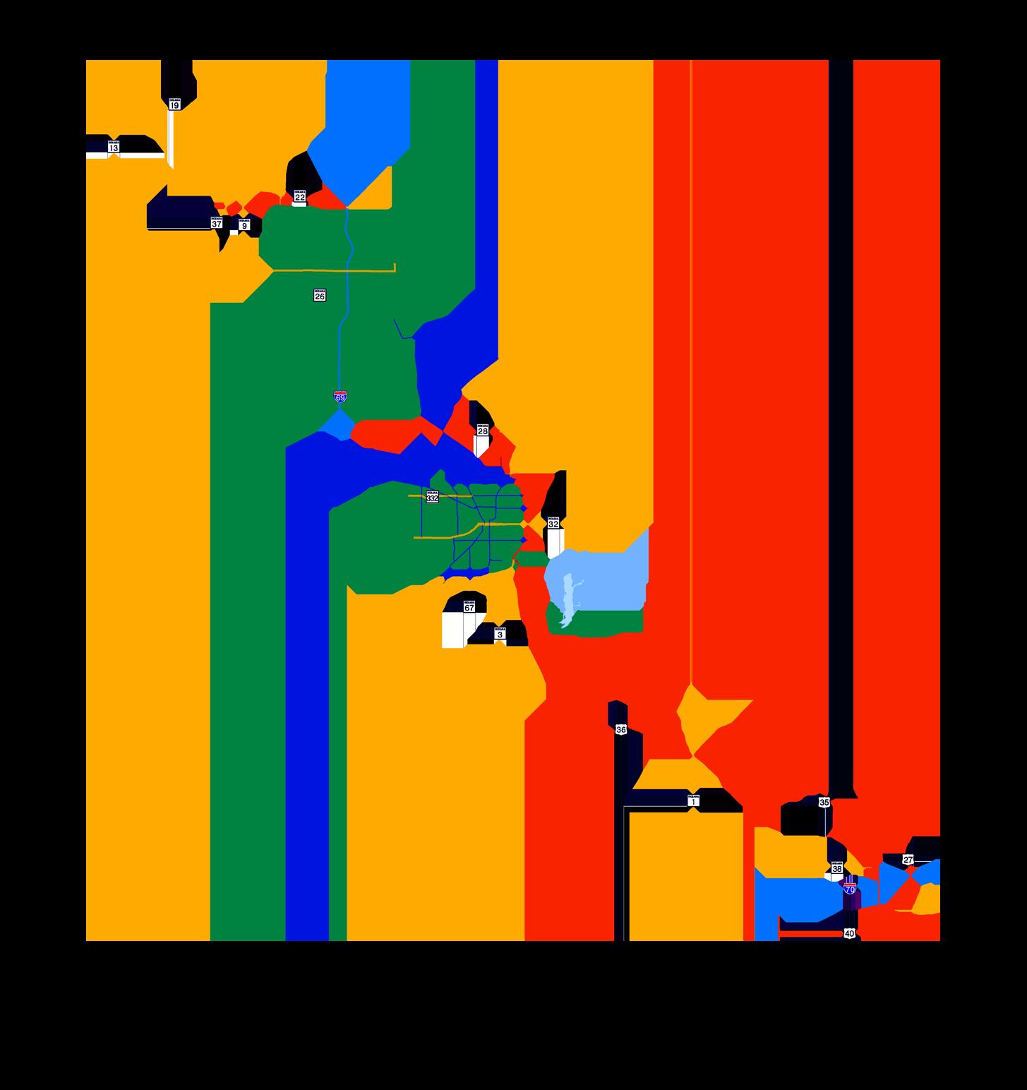 cardinal greenways interactive map